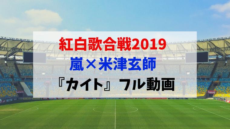 紅白 2019 動画